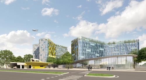 Buro Happold , Cino Zucchi Architetti, Agence Ter — Centro Direzionale Exploration and Production di ENI