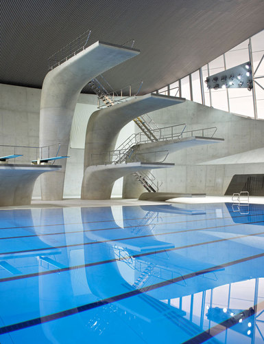 Zaha Hadid Architects — London Aquatic Centre