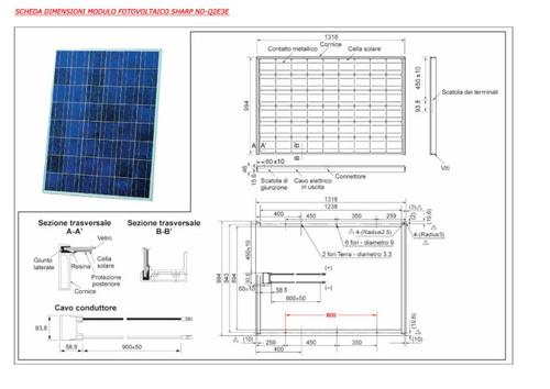 Schema Elettrico Unifilare Impianto Fotovoltaico : Schema unifilare fotovoltaico kw fare di una mosca