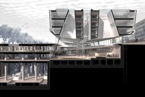 Francesco Cellini, Insula Architettura e Ingegneria S.r.l., Hüseyin Kaptan, Atelye 70 — Yenikapi Transfer Point and Archaeo‐Park Area