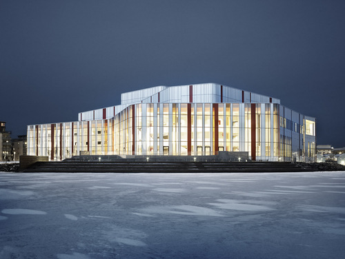 Wingårdhs — Spira performing arts center