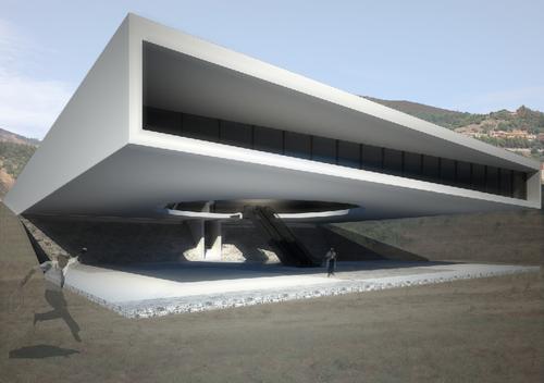 """Diego Repetto, Filippo Parroni — """"DOSA"""" Museo nel futuro parco archeologico- fluviale di Sarcapos. Villaputzu"""