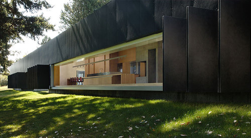 Patkau Architects — Linear House