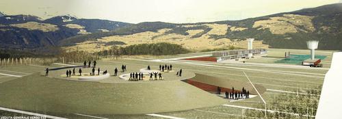 Alfonso Cendron — Concetto per lo sviluppo di un'area ricreativa sull'altopiano