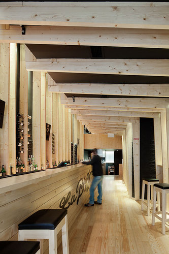 "AVA Architects — Bar ""La Bohème entre amis"""