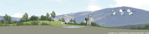 Markus Fiegl, Marek Jahnke Landscape-Architect — Area ricreativa sull'altopiano. Naz-Sciaves