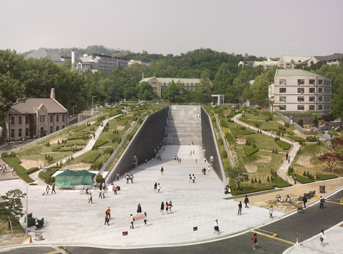 Dominique Perrault Architecture — Ewha Womans University