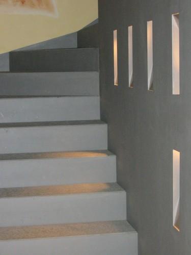 Dario frigoli realizzazione scala interna con elementi divisori di arredo in ferro divisare - Scala interna in ferro ...