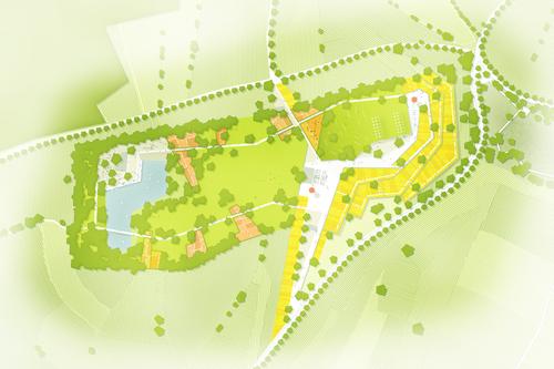 Stefan Bernard Landschaftsarchitekten, Hannes Schnitzer, Florian Kiem, Philipp Sattler — Area ricreativa sull'altopiano. Naz-Sciaves