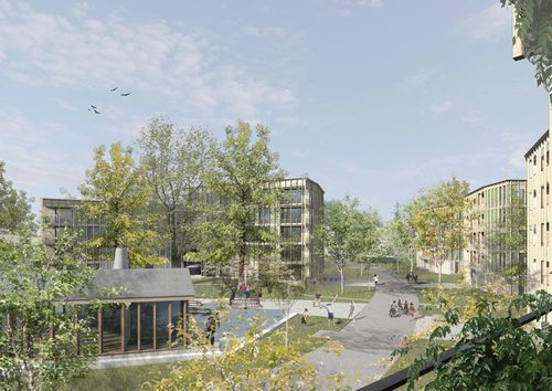 Esch Sintzel Architekten, Schweingruber Zulauf Landschaftsarchitekten — Wohnsiedlung Schönauring