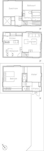 House_in_futako_shinchi_simple-plan_large