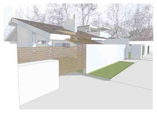 Fabio licciardi progetto di casa unifamiliare a volpiano - Progetto completo casa unifamiliare ...