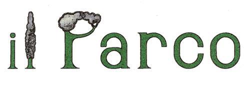 """Ermes Brunelli — Logo del ristorante """"il Parco"""" di Montaletto di Cervia (RA)"""