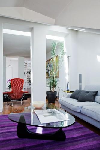 Francesca cutini studio 12 appartamento mansardato in for Metraggio di appartamento studio