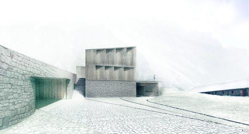 Filippo Cavalli, écru architetti, Simona Bertoletti, Antonello Sportillo, Giulio Viglioli — Nuova Malga Fosse