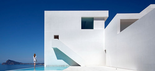Fran Silvestre Arquitectos — House on the cliff