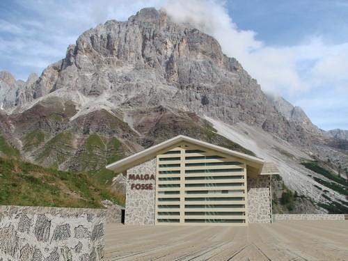 Leonardo Panigutti — Concorso di idee per la riqualificazione di Malga Fosse- Comune di Siror-Passo Rolle –p.ed 762 C.C. Siror.