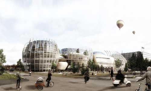 Djuric-Tardio Architectes — Helsinki Central Library Open International Architectural Competition / The Heart of the Metropolis