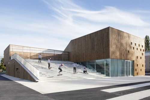 Ateliers O-S architectes — NVR. Cultural Center in Nevers