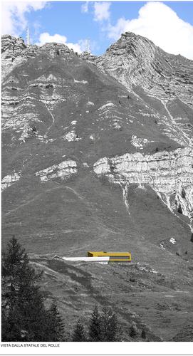 Arch. Giacomo Marsilio — Riqualificazione di Malga Fosse comune di Siror - Passo Rolle