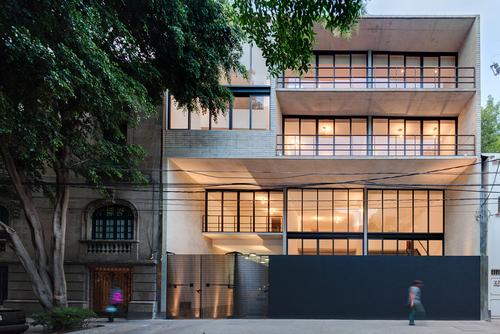 Jsª Arquitectos — Tabasco 127