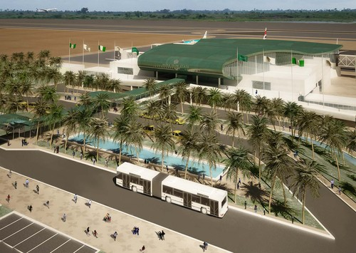 3TI Progetti Italia Ingegneria Integrata SPA, 3TI Architecture & Engineering Consultants JLT  — International Terminal Building - Ibom International Airport - Uyo, Akwa Ibom State, NIGERIA