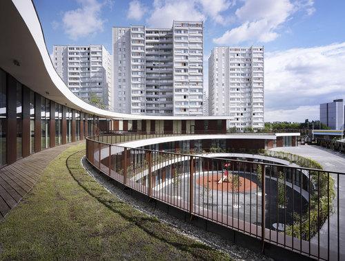 Mikou Design Studio — Bobigny School Complex