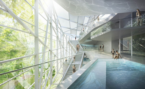 HMGB Architekten — New Paracelsus Spa and Pools in Salzburg