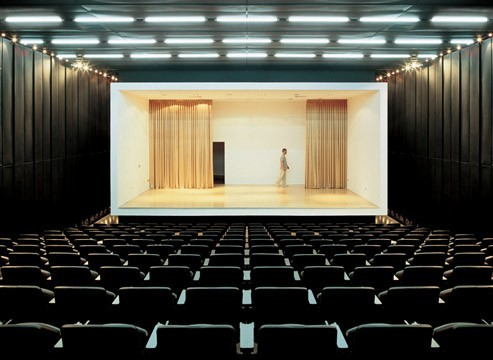 Emilio Marin, Tidy Arquitectos — Building renovation and auditorium addition, School of Fine Arts, Universidad de Chile