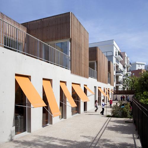 SOA architectes — Children Care Center Gavroche