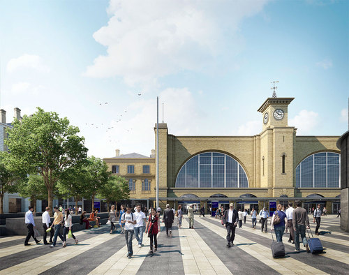 Stanton Williams — King's Cross Square