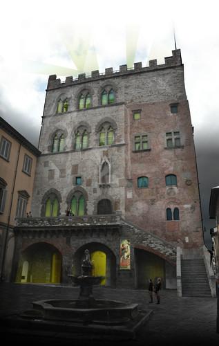 Guendalina Salimei, prof. Andrea Balzola, Giovanni Bulian, Alessandro Grassia, Alessandra De Berardis — Allestimento del Museo Civico di Prato
