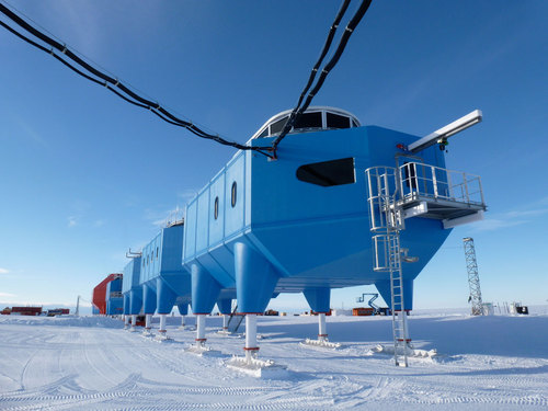 Hugh Broughton Architects — Halley VI Research Station