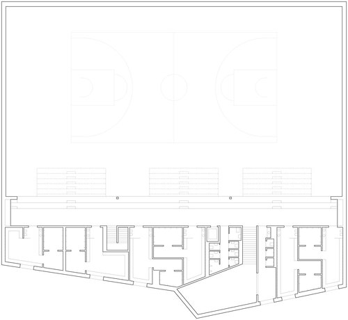 Meyer architecture savioz fabrizzi architectes salle de for Meyer architecture