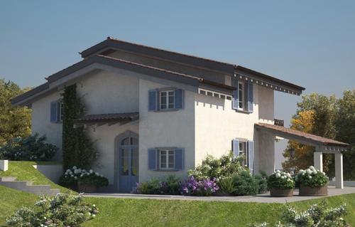 Progetti Esterni Case : Progetti realizzati di case in legno