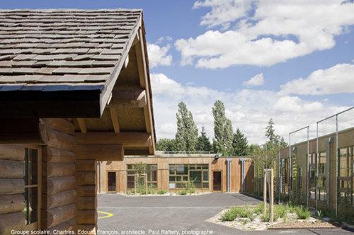 maison edouard fran ois chartres school complex divisare by europaconcorsi. Black Bedroom Furniture Sets. Home Design Ideas