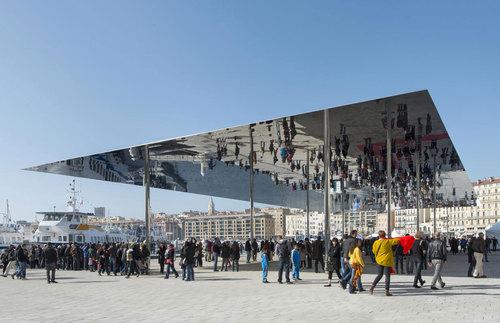 Foster + Partners — Marseille Vieux Port Pavilion