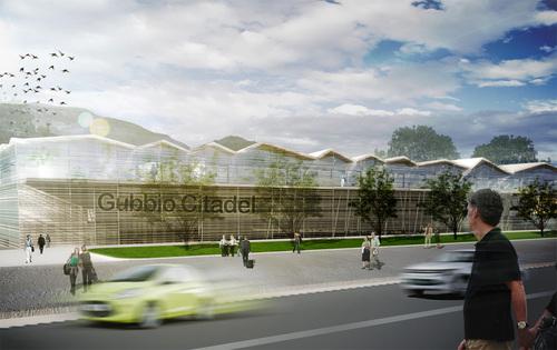 Guendalina Salimei, T-studio — Edificio polifunzionale in viale L. da Vinci