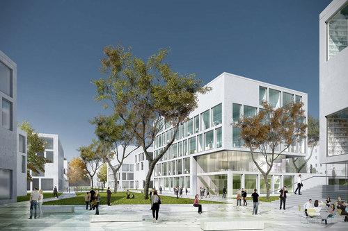 JSWD Architekten, Club L94 Landschaftsarchitekten — Nano-Institut LMU