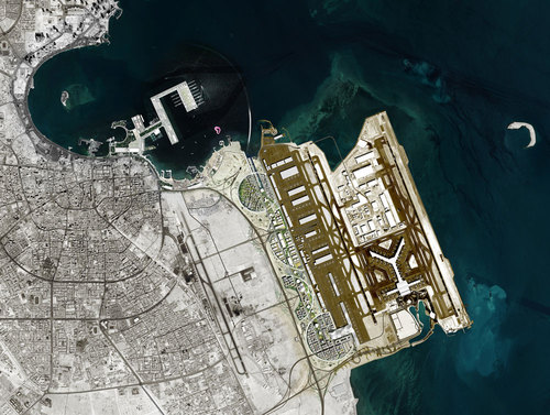 OMA — Masterplan Airport City for Hia Airport in Doha