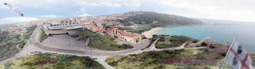 Stefano Manzo, Marco Chitti — Riqualificazione Piazza della Libertà, viale Bechi, aree circostanti la Torre spagnola e la spiaggia La Rena Bianca