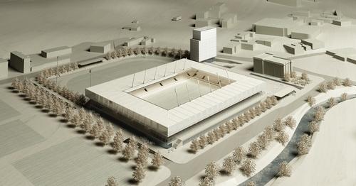 Antonio Citterio Patricia Viel and Partners, Michele Arnaboldi Architetti — Stadio Cornaredo e Polo sportivo e degli eventi