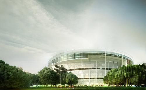 MenoMenoPiu  Architects   /- - + AA/, FHF Architectes, Paolo Venturella — Tokyo Olympic Stadium