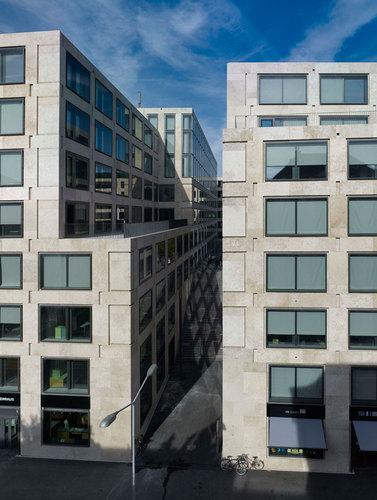 Max Dudler Architekt — Europaallee Zurich