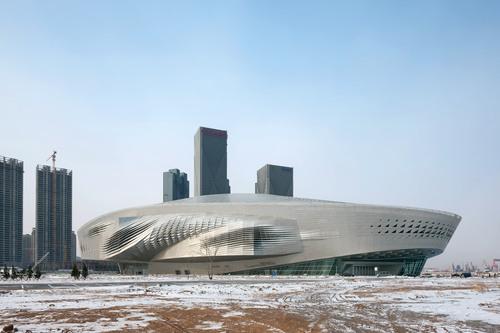 Coop Himmelb(l)au — Dalian International Conference Center