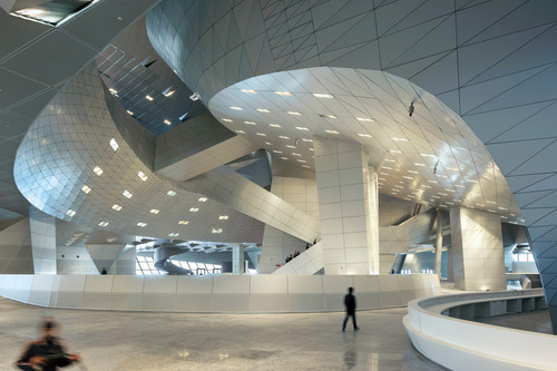 Coop Himmelb(l)au — Dalian International Conference Center
