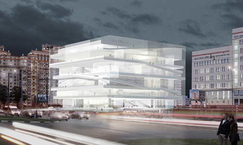 John McAslan & Partners, Project Meganom — Museum and Educational Centre of the Polytechnic Museum and Lomonosov Moscow State University