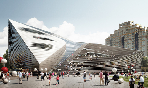 3XN, Alexander Asadov — Museum and Educational Centre of the Polytechnic Museum and Lomonosov Moscow State University