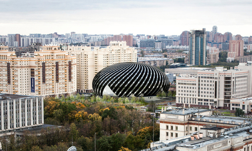 Farshid Moussavi Architecture, Rozhdestvenka Architectural bureau — Museum and Educational Centre of the Polytechnic Museum and Lomonosov Moscow State University