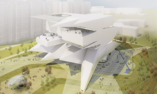 Leeser Architecture, ABD Architects — Museum and Educational Centre of the Polytechnic Museum and Lomonosov Moscow State University